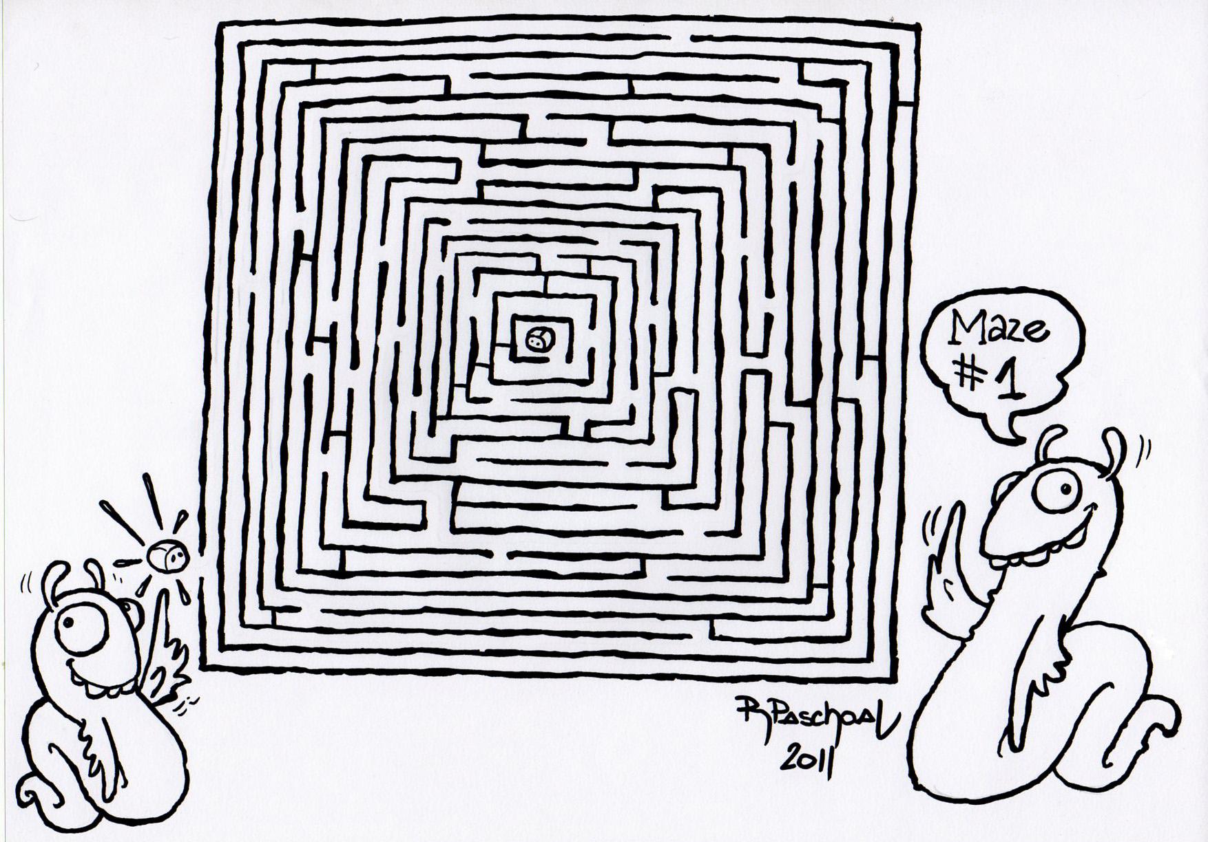 labirinto 1 rabiscografia