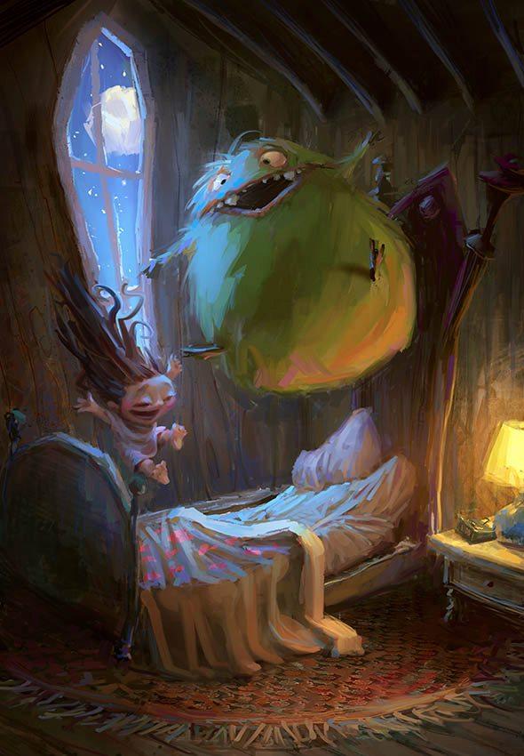 Monster Slumber Party
